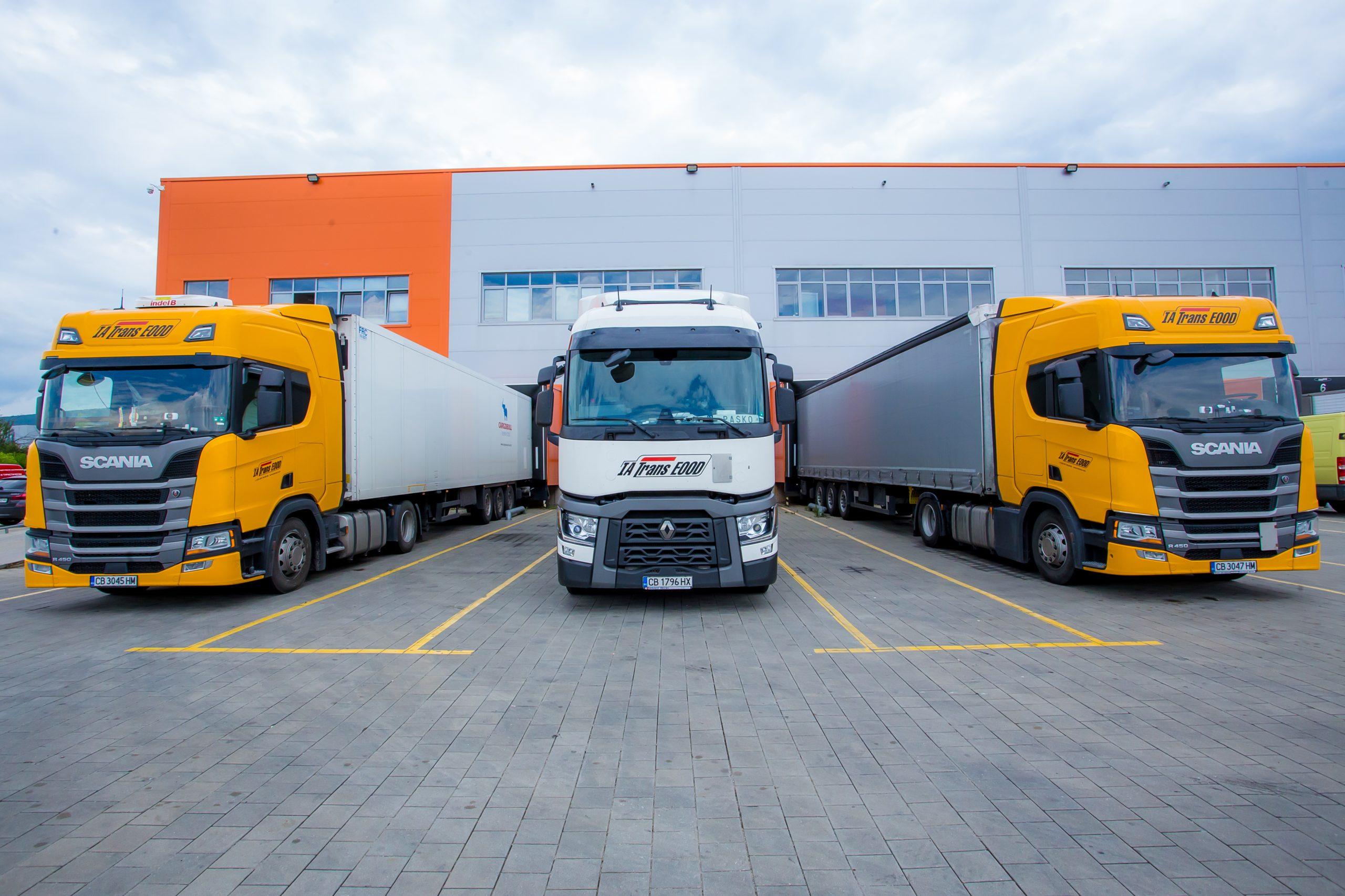 нови камиони ИА Транс